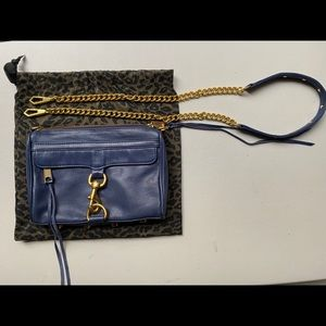 Authentic Rebecca Minkoff Mini MAC Crossbody Bag